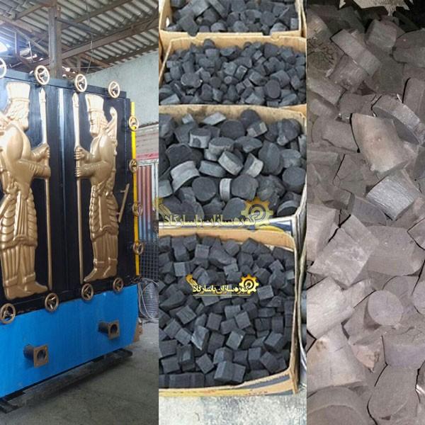طرح تولید زغال فشرده